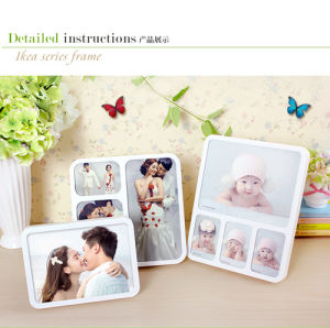High Quality Transparent Acrylic Creative Puzzle Photo Frame pictures & photos