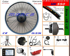 En15194 Approved Rear Wheel Drive Electric Bike Kit Cassette Freewheel Motor pictures & photos