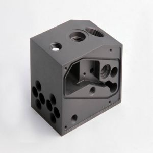 Precision CNC Machining Parts with Black Anodized (LM-1159A) pictures & photos