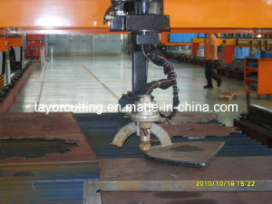 CNC Gantry Plasma 3D Bevel Cutting Machine pictures & photos