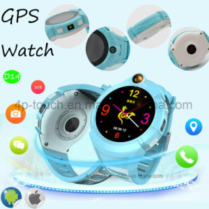Round Screen Kids Smart GPS Tracker Watch with Camera D14 pictures & photos