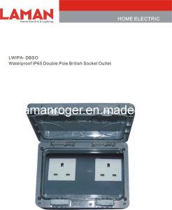 LWIPA-DBSO IP65 Waterproof Double Pole British Socket Outlet