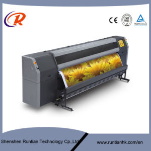 New 3.2m Flora Printer with 4 PCS Konical Print Head