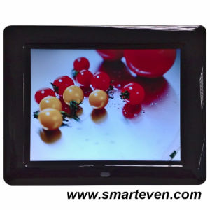 8inch Slim Multifunction Digital Photo Frame with Music&Video Display (S-DPF-8A)