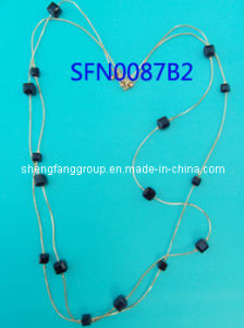 Fashion Jewelry Handmade Long Design Beads Necklace (SFN0087B)