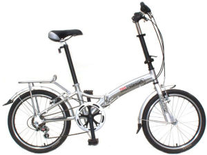 Good Looking City Folding Bicycle Urban Folded Bike Foldable Scooter Alloy Frame Tektro Brake pictures & photos