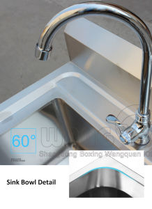 Catering Equipment Stainless Steel Sigle Bowl Basin pictures & photos