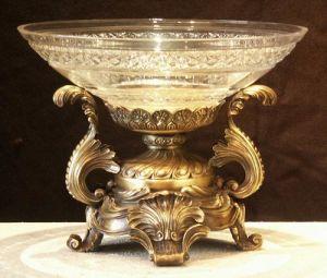 Bronze Crystal-Glass Vase (GP061B)