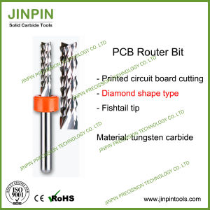 High Quality PCB Router Bit, PCB Corn End Mill pictures & photos