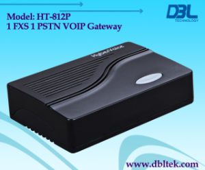 VoIP Gateway 1-FXS Port With a PSTN Bypass Port (HT-812P) pictures & photos