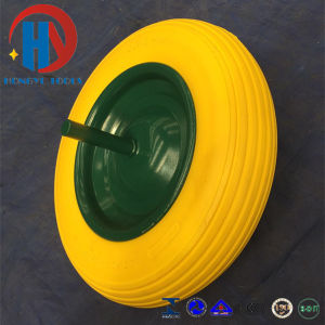 3.50-8 PU Foam Wheel Solid Tyre pictures & photos