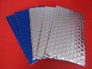 Heat Insulation With Aluminum Foil and Bubble