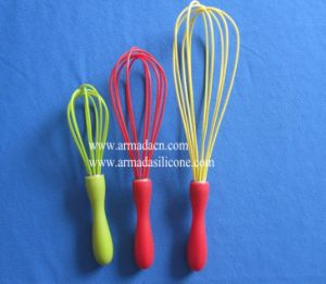 Silicone Whisk With 5 Loops (AI-K519)