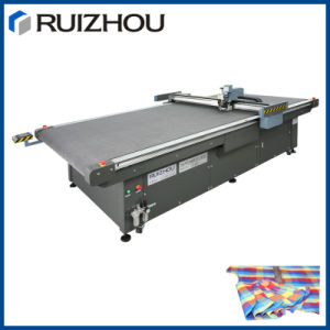 Automatic Vibrating Knife Cloth Cutting Machine pictures & photos