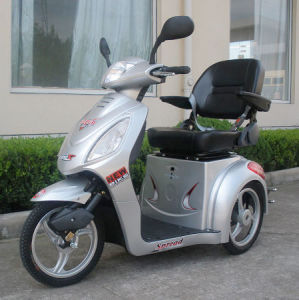 CE New Mobility Scooter With Front & Back Shock (BTM-06B)