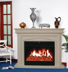Electric Fireplace/European Style Fireplace (9142) pictures & photos