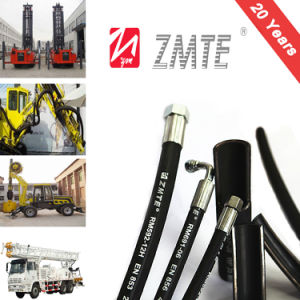1sn Flexible Hose/ High Pressure Hydraulic Rubber Hose pictures & photos