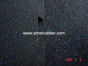 Interlocking Rubber Flooring for Fitness Center pictures & photos