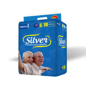 Top Gear Adult Diaper with Cloth Like Backsheet Magic Tape