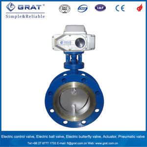 Gas Low-Load Electric Butterfly Valve pictures & photos