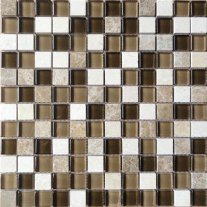 Stone Mix Glass Mosaic (HGM205) pictures & photos