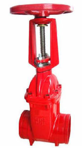 Grooved Gate Valve pictures & photos