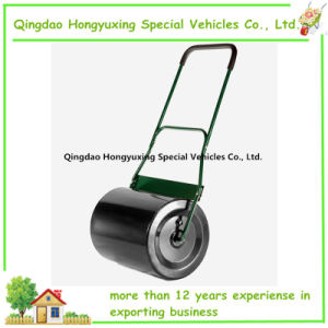 Hand Push Steel Garden Lawn Roller with Water or Sand
