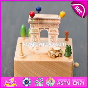 Customize Lovely Gifts Wooden Baby Music Box W07b043 pictures & photos