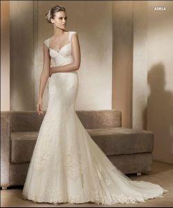 Strapless Elegant Wedding Dress (Z-02)
