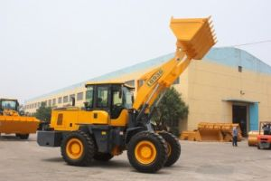 Good Quality 3ton Wheel Loader with Ce, ISO9001 Joystick and Air Conditioner pictures & photos
