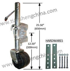 1500lbs Capacity Dual Wheel Marine Jacks (Jockey Wheel) (TJ-1500B-Z-DW)