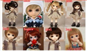 1/8 BJD Dolls, Moveable Joints Doll 16cm BJD Dolls pictures & photos
