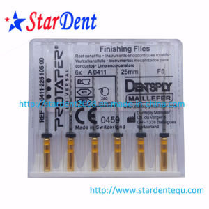 Dental Dentsply Root Canal Protaper Files (with cross) of Hospital Medical Lab Surgical Diagnostic Equipment pictures & photos