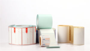 Detachable Direct Thermal Paper with Hot Melt and Glassine Liner