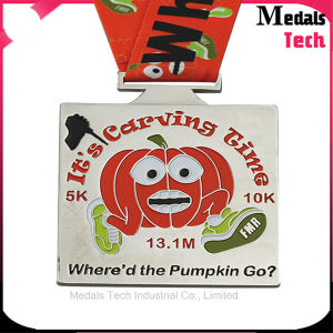 High Quality Shamrocks Run Soft Enamel Sports Metal Medals pictures & photos