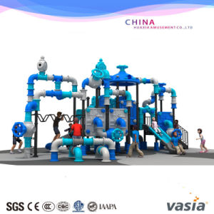 New Plastic Children Outdoor Playground Ofr Factory Sale with Discount pictures & photos
