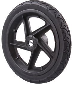 Extra PU Color Is Black Baby Stroller Wheel pictures & photos