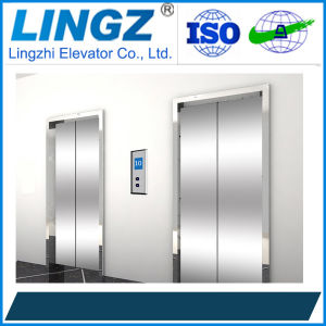 Passenger Home Lift with Hairline Stainless Steel pictures & photos