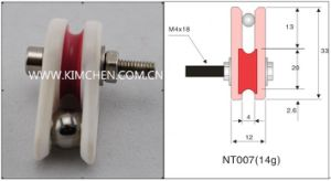 Caged Ceramic Wire Pulley (Wire Jump Preventer) Ceramic Wire Guide Pulley Nt007 pictures & photos