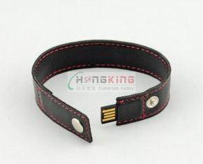 New Leather Bracelets USB Flash Drive