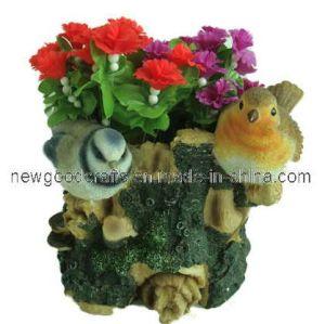Resin Flower Planter (ST8393)