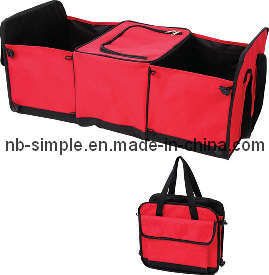 Red Folded Car Organizer Cc1004