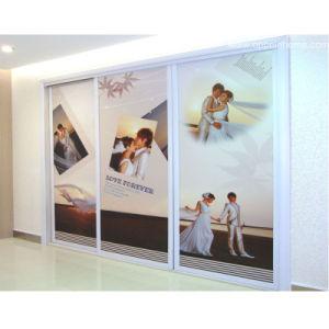 Oppein DIY Wedding Photo Exquisite Sliding Wardrobe (OP-YG21130) pictures & photos