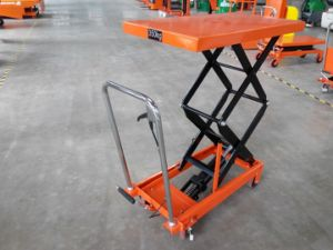 Small Size Scissor Lift Platform with CE Certificatio pictures & photos