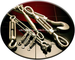 Us Type Drop Forged Electric Galv Turnbuckle with SGS pictures & photos