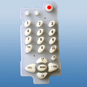 Rubber Keypad, Silicone Rubber