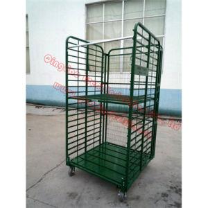 Tc4143, Nursery Cart, Plant Transport Trolly Cart, Danish Flower Trolley, Roll Container, Roll Trolley