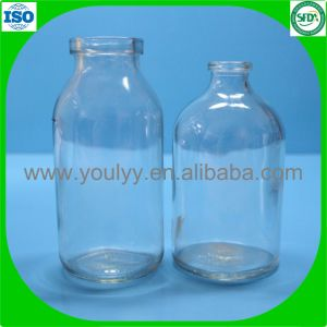 100ml Transparent Moulded Vial pictures & photos