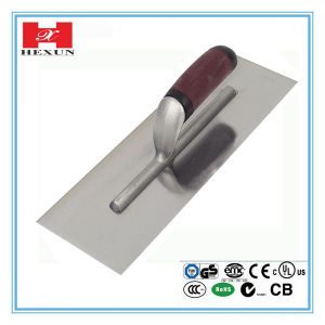 High Quality Construction Tools Plaster Stainless Steel Cement Trowel pictures & photos