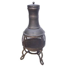 Cast Iron Chimenea (FSL-040) Steel Chiminea Fire Pit pictures & photos